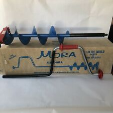 Mora Ice Fishing Drill Hand Auger 6� Sweden Vintage