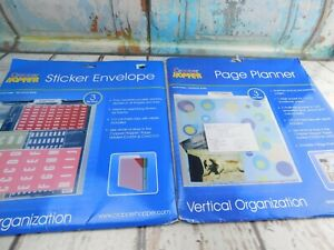 Cropper Hopper Sticker Envelopes and Page Planner New in package