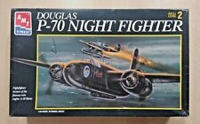 New Listing56-8646 Amt-Ertl 1/48th Scale Douglas P-70 Nighthawk Plastic Model Kit Started