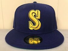 Brand New New Era Size 7 1/2 Seattle Mariners  Fitted Hat