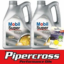Mobil Super 3000 X1 5W-40 Fully Synthetic Oil 10L  + FREE 5L SCREEN WASH TAB