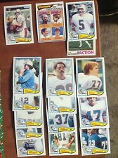 1982 Topps Team Set Miami Dolphins Don Strock A J Duhe Bob Baumhower Nat Moore