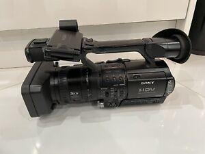 SONY HVR-Z1E HD DIGITAL CAMCORDER 1080I + LOWEPRO BAG *UK STOCK