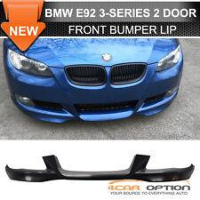 07-10 BMW E92 E93 3-Series OE Style Front Bumper Lip Spoiler PU Unpainted
