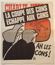CHARLIE HEBDO n°395 ¤ 1978 ¤ Couv GEBE / WOLINSKI / CARALI / REISER / CABU