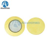 10PCS 35mm Piezo Elements buzzer Sounder Sensor Trigger Drum Disc+wire copper`US