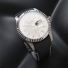 LUXURY WATCH ALESSANDRO BALDIERI  SWISS 45MM  STAINLESS STEEL .AGED WHITE NEW