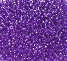 Amethyst color Mini Pony Beads made in USA 1000pc for crafts school VBS jewelry