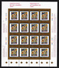 Canada -Full Pane of 16 -Art, Masterpieces: Floraison by Alfred Pellan #1545 MNH