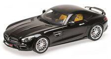 Minichamps 107032520 Brabus 600 basado Mercedes AMG GT S 2015 negro 1 18
