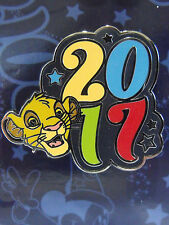 2017 New Authentic Disney Dated Year Booster Trading Pin Lion King Simba Stars