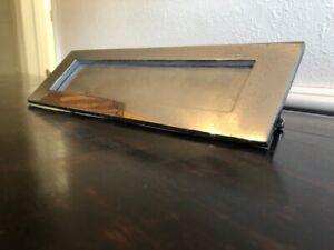 LARGE CROME LETTER BOX PLATE   EL1045