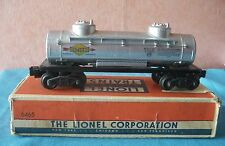 Lionel new york trains 6465  u.s.a. o 1/43,5 wagon citerne tank car boite