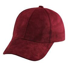 Fashion Snapback Suede Baseball Cap Women Men Casquette Sport Hip Hop Flat Hat
