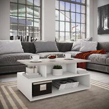 Couchtisch Beistelltisch Wohnzimmertisch Sofatisch Wohnmöbel - Weiß / Beton
