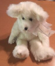 Hallmark White Snowflake Bear Plush