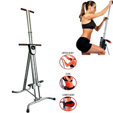 Vertical Climber Machine Exercise Stepper Cardio Workout Fitness Gym Adjustable