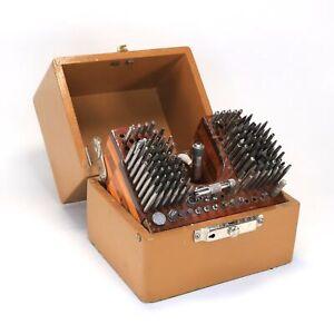 Kendrick & Davis Inverto No. 17 Watchmakers Staking Tool with Wooden Box LA114