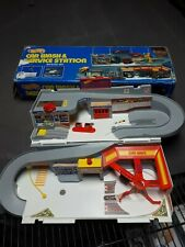 Vintage Hot Wheels Car Wash And Service Station Playset With Box Rare