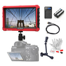 "Lilliput A7S 7 Inch On Camera Field Monitor 4K HDMI 1920x1200+ 11"" Magic Arm"