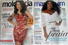 2 MAGAZINES MANEQUIM BRAZILIAN MAGAZINE 682 & MOLDE & CIA 117   W/ PATTERNS