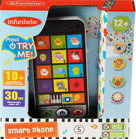 Pretend Play Mobile Smart Phone Toy For Tots - 12 Months +