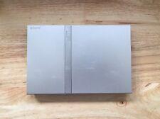 Sony Playstation 2 Ps2 Slimline CONSOLE ARGENT ~ multi ~ region free NTSC-U/J PAL