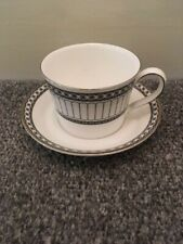 Wedgwood Contrasts Cup and Saucer - Made in England