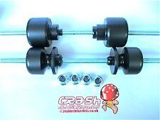 HONDA CRF250 CRF450X FUNGHI Anteriore Asse posteriore Paddock CARRELLO bungs BOBINE S3K