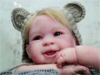 Studio-Doll Baby  Toddler Boy  LUCAS  by THOMAS DYPRAT  full VINYL BODY 23 inch
