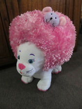 MOSHI POP TOPS CAT...unusual cat with attachable head piece...white cat