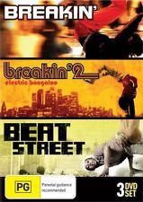 Breakin' Collection (DVD, 2010, 3-Disc Set) Brand New !Australian Release