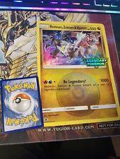 POKEMON LARGE OVERSIZE CARD: Reshiram, Zekrom & Kyurem Legendary Promo