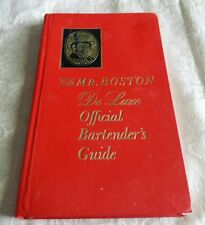 Old Mr. Boston De Luxe Official Bartender'S Guide 28Th Printing Nov. 1964