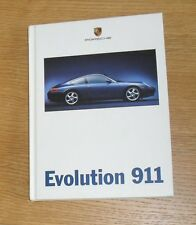 Porsche 911 996 Brochure 1997-1998 Carrera Coupe Evolution 996 1st 996 Brochure