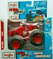 Maisto Fresh Metal Earth Shockers Red Ford F-150 Motorized Off-Road Series VHTF