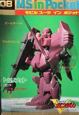 V Gundam MS in Pocket 08: 1/144 ZM-S09G Tomliat 1993 Japan Rare 1993 vintage