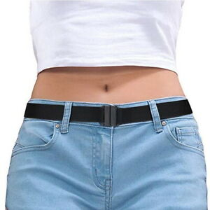 Buckle-free Elastic Invisible Belt for Jeans No Bulge No Hassle Non-Slip No Show