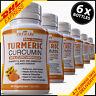 6 x TURMERIC 95% CURCUMINOID ANTIOXIDANT TUMERIC ANTI INFLAMMATORY PILLS CAPSULE