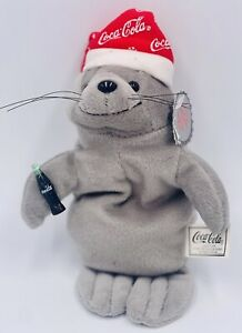 Beanie Babies Santa Claus 1998 collectors vintage Coca-Cola Seal unique Rare