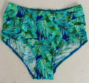 Ladies bikini Bottoms, Palm Print, By Avon