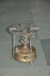 Old Brass & Iron Primus No.210 Handcrafted Kerosene Stove, Sweden