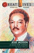 Jesse Jackson: A Voice for Change: By Otfinoski, Steve
