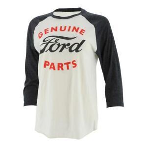 Ford Vintage Genuine Parts Raglan Tee 3/4 sleeve