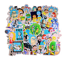 Rick And Morty 100 Pcs Stickers for car Cartoon Vinyl Decal Macbook Laptop, USA!