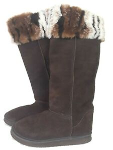 Womens Boots Size 5/6 Holster Calf  Boots  Brown