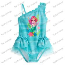DISNEY Store SWIMSUIT for Girls ARIEL DELUXE 1 Piece PICK Size NWT