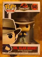 FUNKO POP! JURASSIC PARK: DR. ALAN GRANT #545...VAULTED