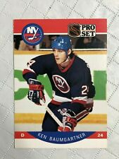 1990 ~ PRO SET HOCKEY ~ NEW YORK ISLANDERS ~ #178-194 ~ EF Condition