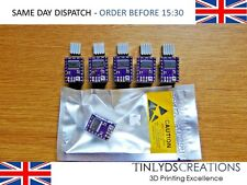 5X DRV8825 STEPPER MOTOR DRIVERS  + HEATSINK REPRAP 3D PRINTER PART